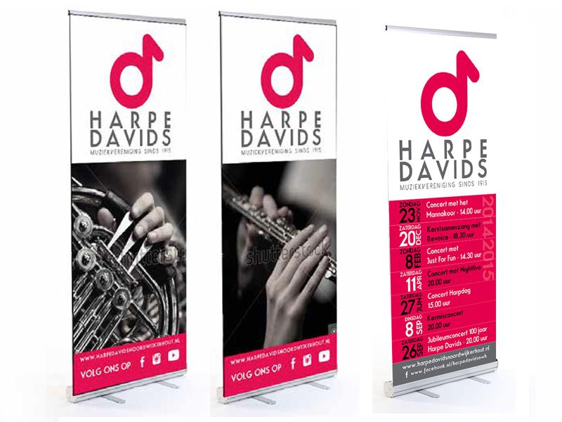 Banners Harpe Davids