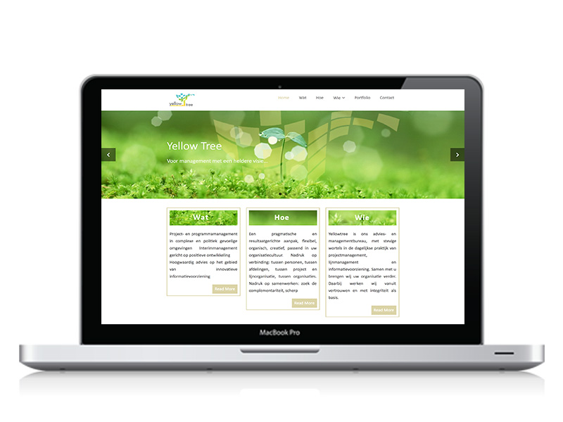 webdesign Yellowtree